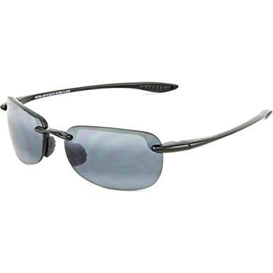 f72b788188a7c Maui Jim Sunglasses - Sandy Beach Sport   Frame  Gloss Black Lens  Neutral  Grey