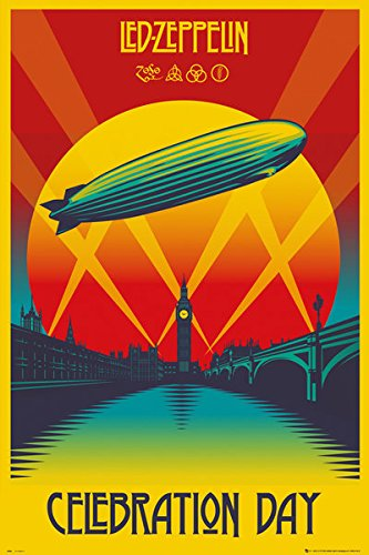 Led Zeppelin - Music Poster / Print (Celebration Day) (Size: 24