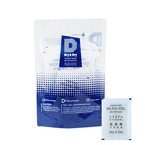 이 쿨러 실리카겔 패키지 데시 케이타 제습기, 20g, 20 piece/DRY&DRY Silica Gel Packets Desiccant Dehumidifiers, 20g, 20 Piece