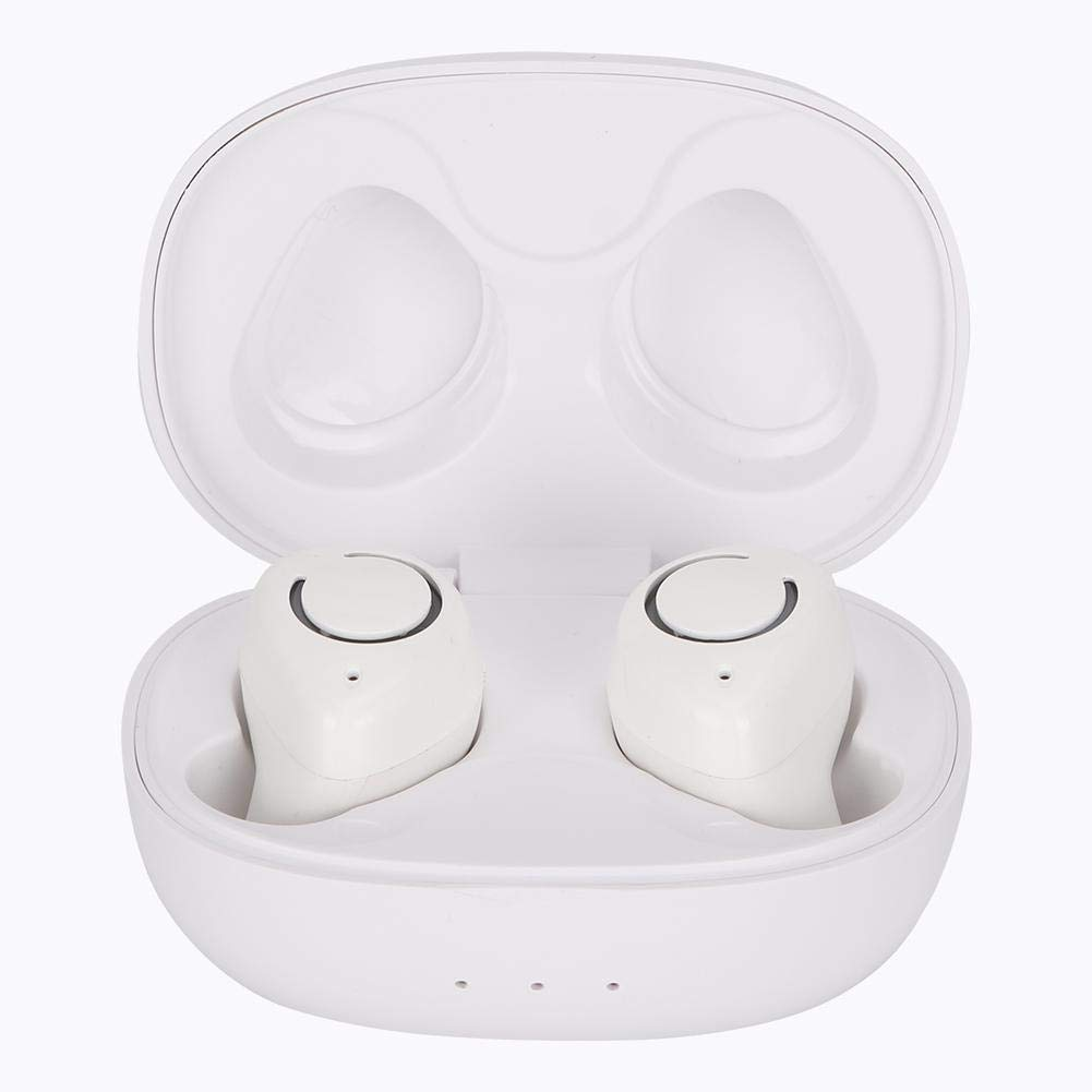 Tangxi Wireless Earbuds, Bluetooth 5.0 Headphones Mic Deep Bass Stereo Wireless Earphones IP5X Waterproof Sweatproof Sports Headphone in-Ear Earphones with 370 mAh Charging Case