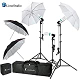 #3: LimoStudio Photography Video Portrait Studio Daylight Umbrella Continuous Lighting Kit with Energy Saving Bulb, Photo Studio, AGG2332