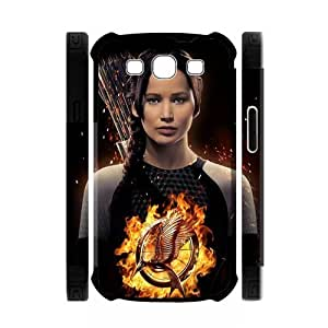 Every New Day The Hunger Games Katniss Everdeen Jennifer Lawrence Unique Custom Samsung Galaxy S3 I9300 Best Polymer+ Rubber 3D Cover Case WANGJING JINDA
