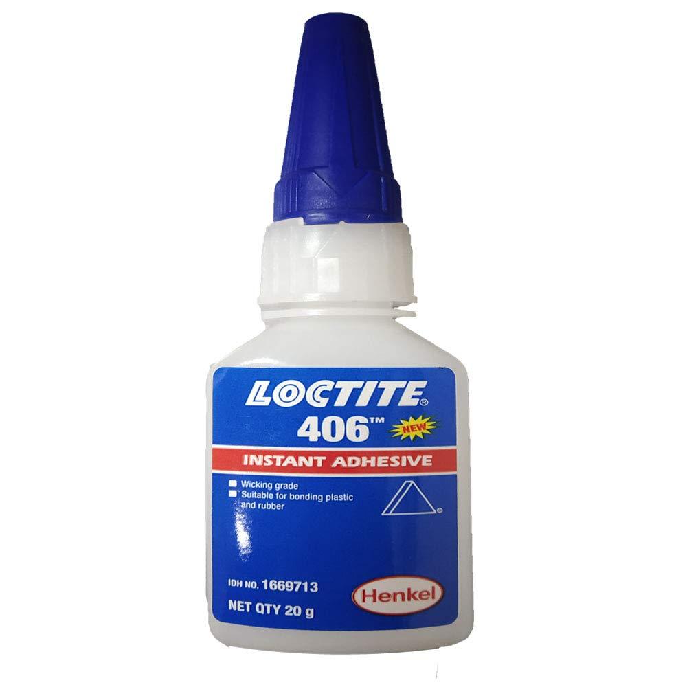 Loctite 406 (40640) 406 Prism Instant Adhesive (Wicking Grade), 20 Gram Bottle