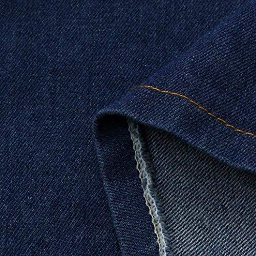 Yasminey Blau Giovane Cappotti Invernali Confortevole Cappotto Elegante Moda Di Manica Lunga Women Trench Jeans Giacche Breasted Double Donna Anteriori Bavero Tasche Casual 11grdx