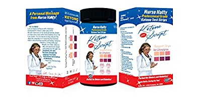 Ketone Strips 100ct +Get 25 FREE ★ Professional Ketone Test Strips ★ Perfect for Diabetics, Paleo & Atkins Diets + Free Complementary Gifts to Benefit Your Fat Loss / Diabetic Program