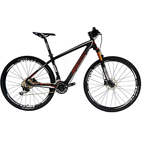 BEIOU Carbon Fiber 650B Mountain Bike 27.5-Inch 10.7kg T800 Ultralight Frame 30...