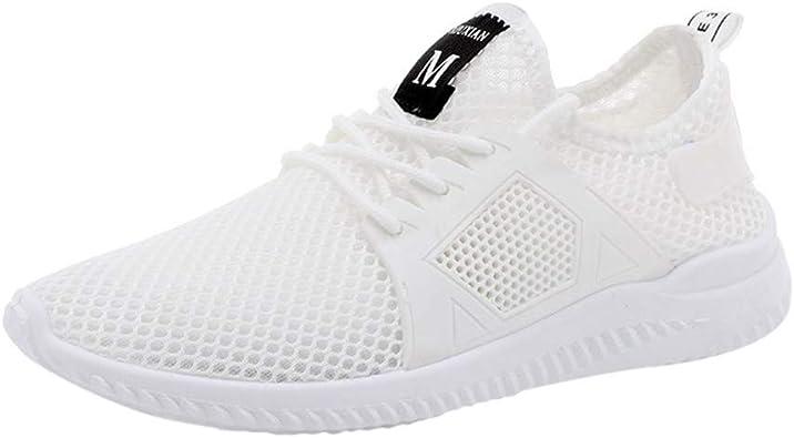 KUDICO Chaussures de Course, Baskets Respirantes en Mesh