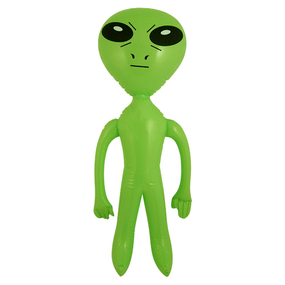 HENBRANDT Inflatable Blow Up Green 64 cm Alien Space Ship Party Accessory Green