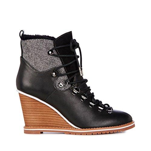 Emu Australië Damessneakers Havenview Schapenvacht Zwart