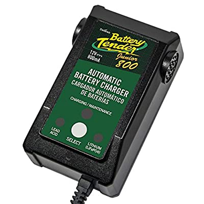 Battery Tender Junior 12Volt 800mAh AGM, flooded, GEL, or lithium (LiFePO4) 022-0199-DL-WH