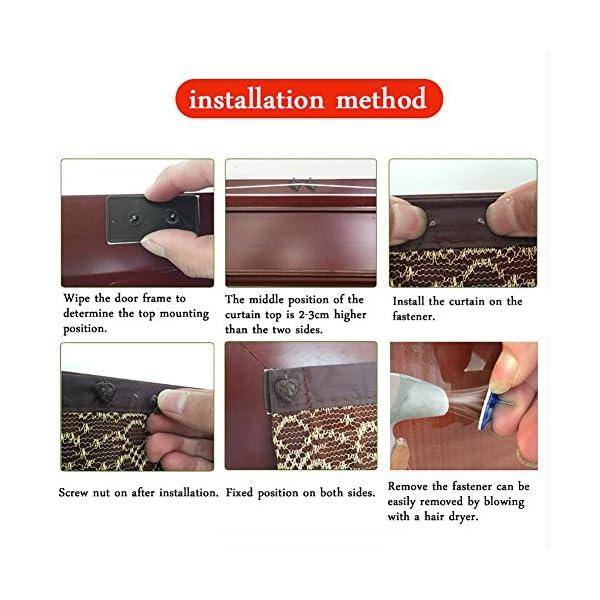 Zanzariera Magnetica Per Porte,Schermo Magnetico Porta Zanzara Estiva,Anti-Zanzara Estate Ventilazione Con Gancio e… 5 spesavip