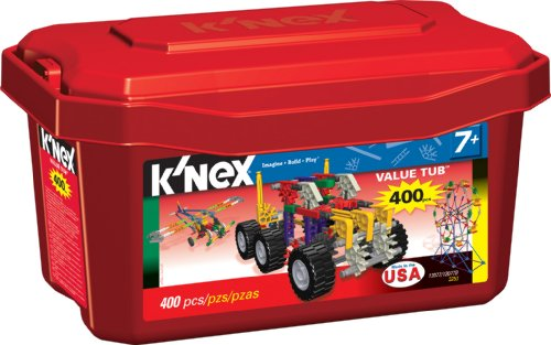 Tub Knex Big Value - Knex Value Tub 400 pieces