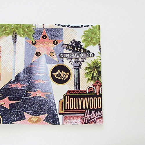 Retro Hollywood Cotton Napkins (Set of 4) ME2Designs Handmade Table Decor