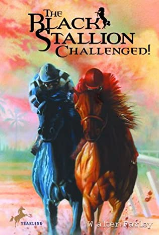 book cover of The Black Stallion Challenged