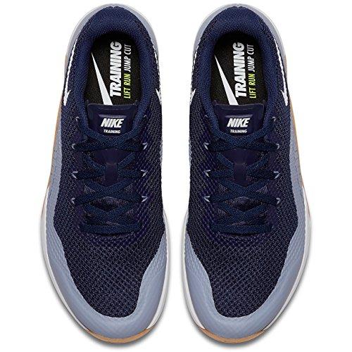 Nike Metcon Repper Dsx Mens 898048-402 Binario Blu / Vertice Bianco-grigio Ghiacciaio