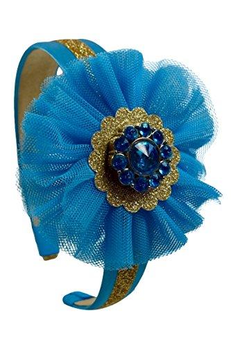 Arabian Nights Inspired Sparkling Glitter Tulle Costume Headband