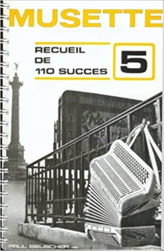 Partition : 110 succes musette n°5 accordeon