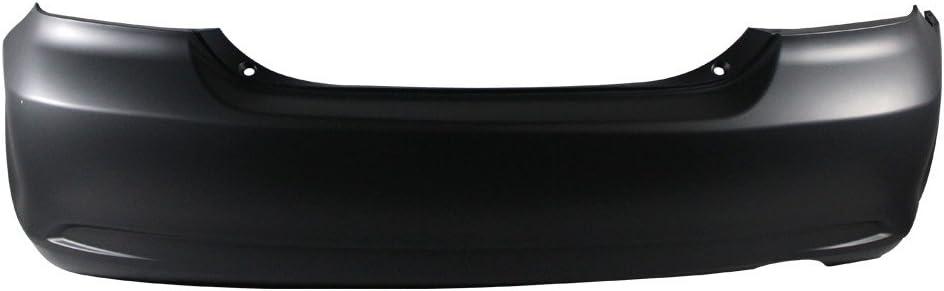 Titanium Plus Autoparts 1997-1999 Fits For Toyota Camry Rear Bumper Cover PRIME BLACK