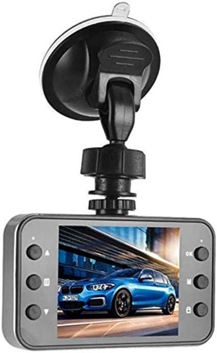 Miyanuby Dash Cam,Registratore di Guida DellAutomobile,Telecamera per Auto Visione Notturna Grandangolare HD,Schermo LCD 2,4 Pollici,Grandangolo 120 Gradi