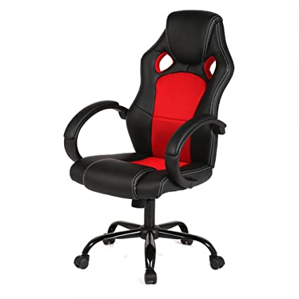 Beau New High Back Race Car Style Bucket Seat Office Desk Chair Gaming Chair