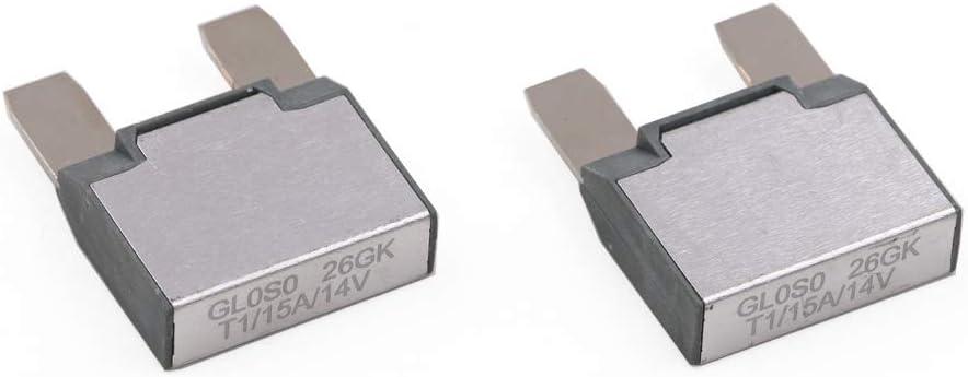 T1 T Tocas 14V DC MAXI Auto Reset 30A Footprint Automotive Circuit Breakers 2pcs