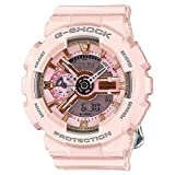 Casio G-Shock Gold and Pink Dial Pink Resin Quartz