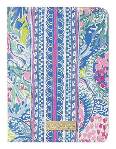 (Lilly Pulitzer Passport Cover/Holder/Wallet (Mermaids)