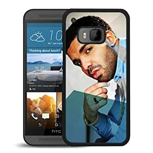 Beautiful Designed Cover Case For HTC ONE M9 With drake 3 Black Phone Case