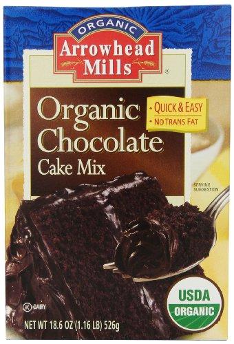 Organic Cookie Mix (Arrowhead Mills Organic Chocolate Cake Mix, 18.6 Ounce)