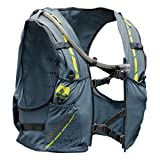 Nathan NS4536 Vaporkrar Hydaration Pack Running Vest with 1.8L Bladder, Blue Stone, Large