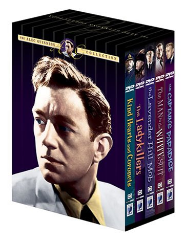 The Alec Guinness Collection (Kind Hearts and Coronets / The Lavender Hill Mob / The Ladykillers / The Man in the White Suit / The Captain's Paradise) by Starz / Anchor Bay