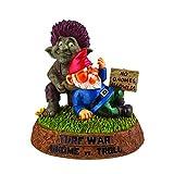 BigMouth Turf War-Gnome vs Troll Garden Statue