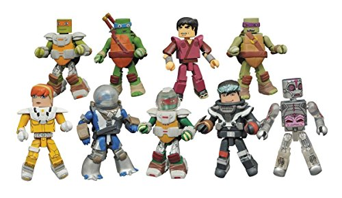 Teenage Mutant Ninja Turtles Minimates Series 5 Display Box of 18 blind bagged 2