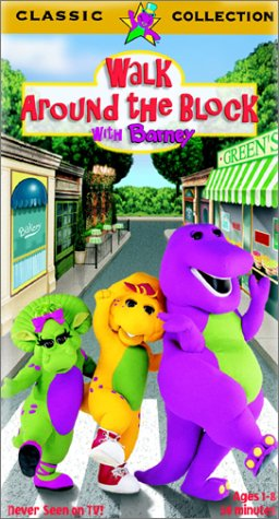 Barney - Walk Around the Block with Barney [VHS]
