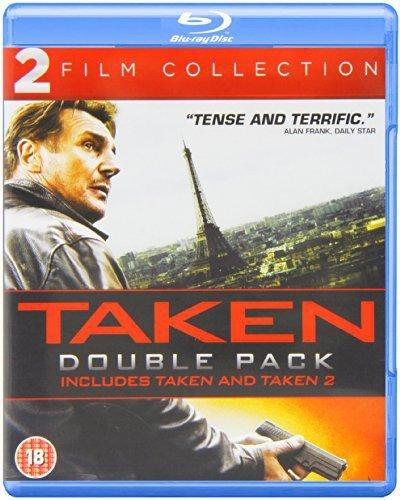 Blu-ray : Taken 1 & 2 (Blu-ray)