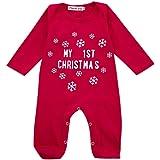 0543dbf9b Matching Family Pajamas Christmas Santa Claus Sleepwear Cotton Kids ...