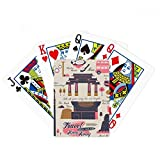 Hong Kong Travel China Famous Poker Playing Card Tabletop Board Game Gift