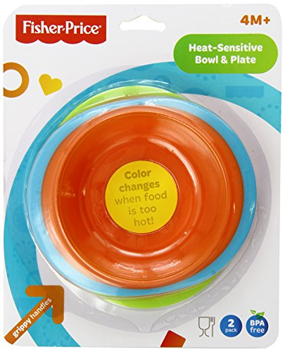 Fisher Price Heat Sensitive Bowl Plate product image