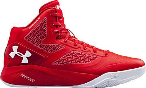 buy popular fae32 ed6e4 Under Armour Men's Ua ClutchFit Drive 2 Basketball Shoes, Red/White 5.5