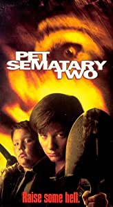 Pet Sematary 2 [VHS]