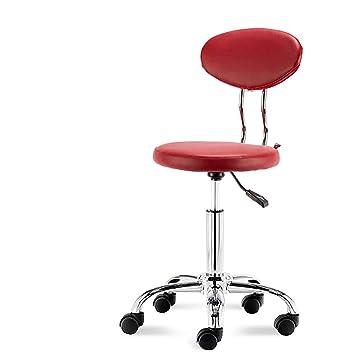 Sgabelli Ergonomici Da Laboratorio.Hsrg Sedie Per Sgabelli Da Salone Regolabili Con Schienale