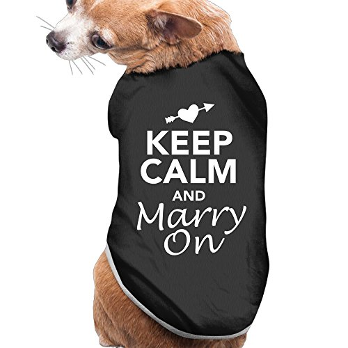 Santa Real Name - Theming Keep Calm And Marry On Special Design Dog Vest
