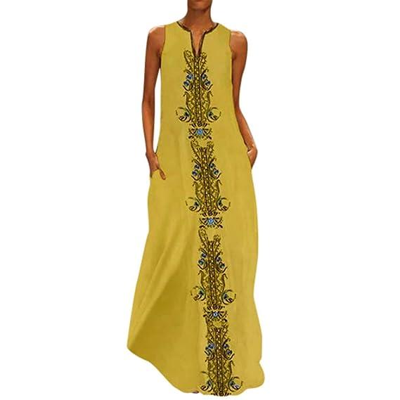 Vestidos Para Mujerlevifun 2019 Verano Vestidos Playa Mujer Vestidos Casuales Vestido Verano Sexy Vestido Moda Vestido Bohemio Con Cuello En V