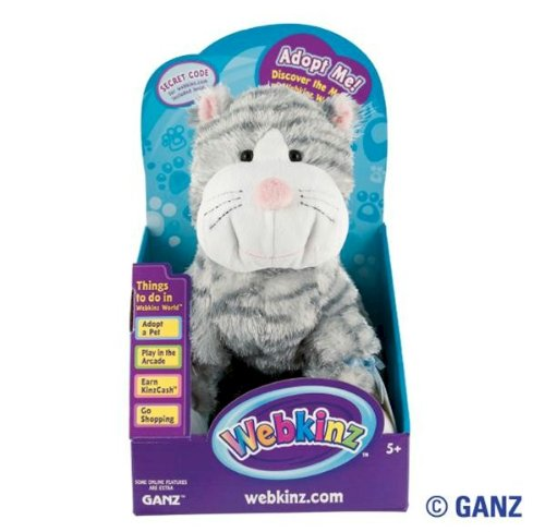 Webkinz Sterling Cheeky Cat in Box with Trading Cards
