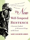 The New Well-Tempered Sentence, Karen Elizabeth Gordon, 0618382011