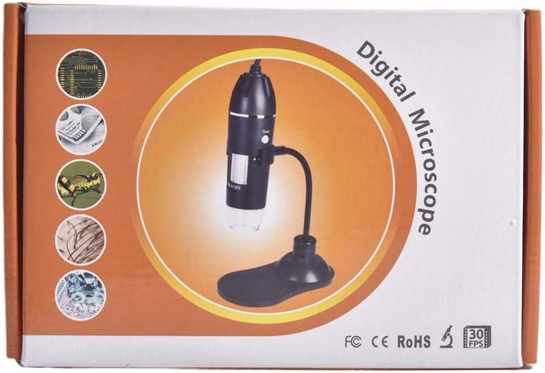 humflour Digitalmikroskop 3-in-1 Mikroskop 1000X Tragbare Schlauchunterst/ützungslupe F/ür MAC Windows