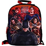DC Comics ''Justice League'' 12 inch Mini Backpack with Side Mesh Pockets