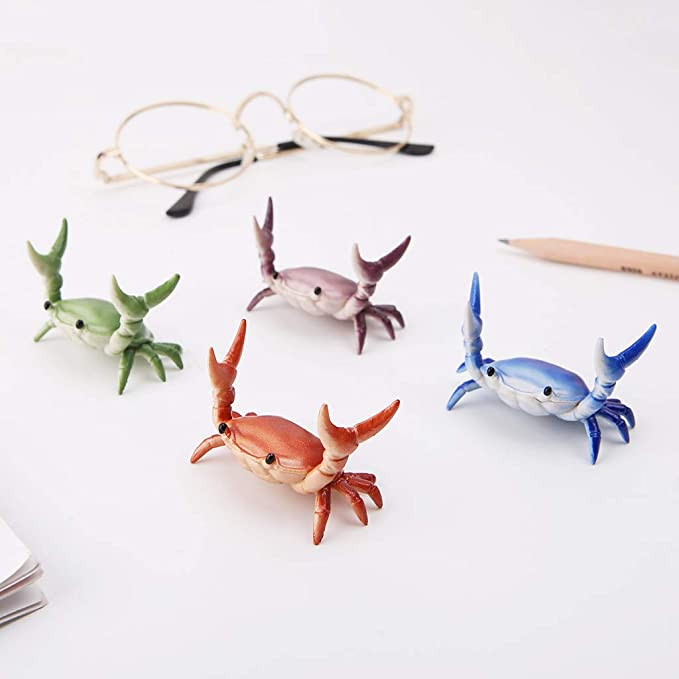 Creative Cute Crab Pattern Pen Holder Bracket Storage Rack for Students Gift jiulonerst