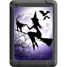 Trendy Accessories Cute Sexy Witch and Cat Silhouette Design Pattern Print Lifeproof Fre iPad Air Vinyl Decal Sticker Skin