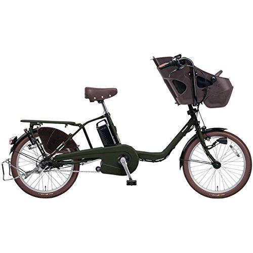 PANASONIC BE-ELMD034-G マットダークグリーン ギュットミニDX [電動自転車(20インチ内装3段変速)] B077V5B121